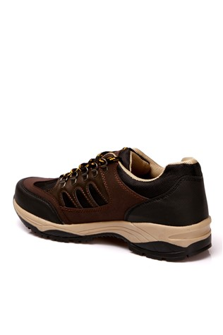 Black & brown man's shoe