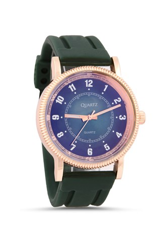 Quartz Th-237 Green watch