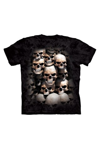 Real 3d D&a M007 Unisex Black T-shirt