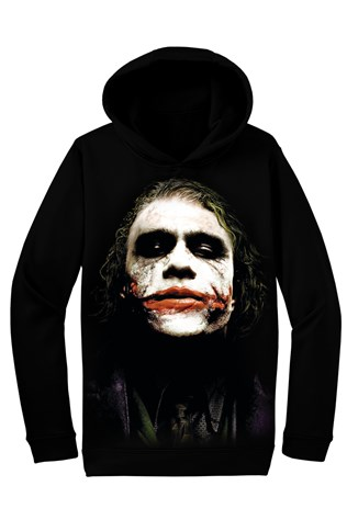 Real 3d M0065 Men's Black Sweatshirt