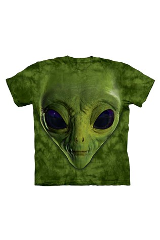 Real 3d Men's Green T-shirt D&a M050