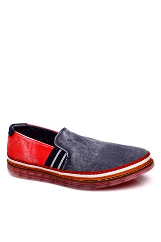 Red Men's Shoes 4042