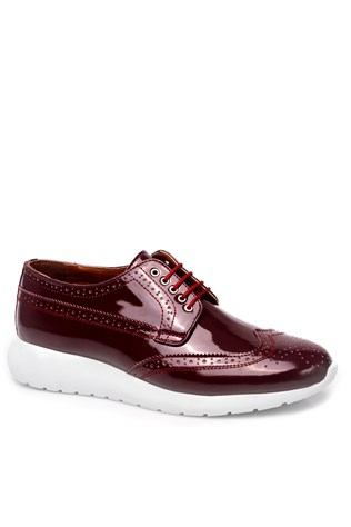 Red Men's Shoes S-9056