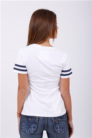 River Tee White T7230FY