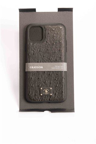Santa Barbara Case iPhone 11 Pro Max Μαύρα γκρίson 734321