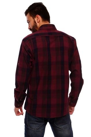 Sea South 14174-6 Men's Bordeaux Shirt