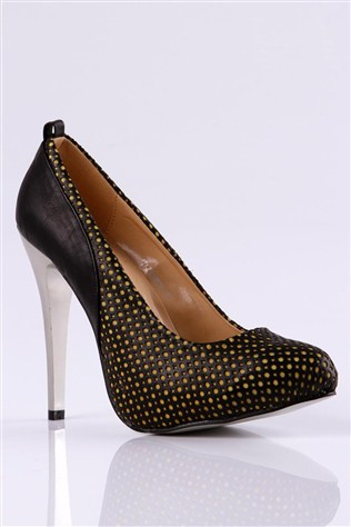 Shamdan 12yz9696 Ov 01 Black Women's Shoe