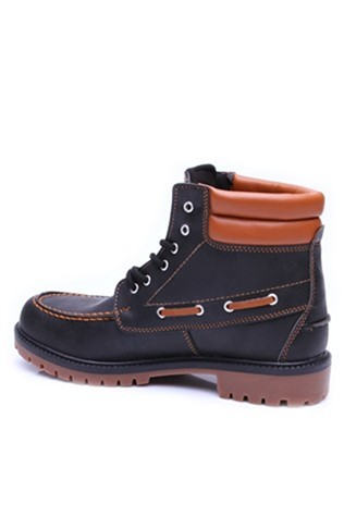 South Yacht Club 0701 Black-Brown Men's Boot