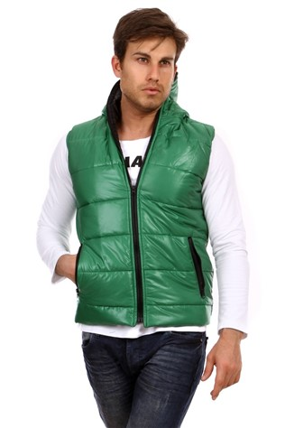 Super Life 9001 Men's Πράσινο Waistcoat