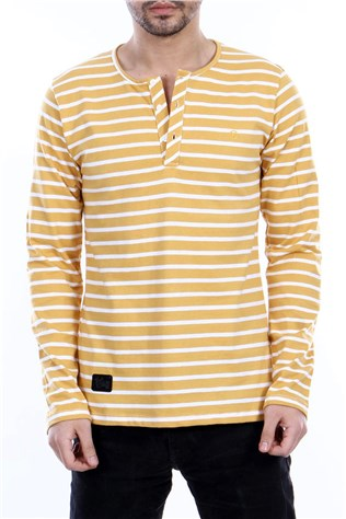 Sn-082 Yellow Men's T-shirt