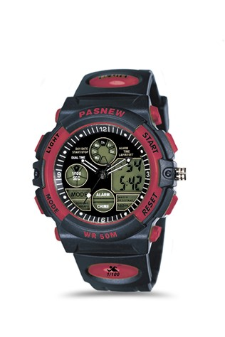 Teen's watch Pasnew Μαύρα PSE048B-N6