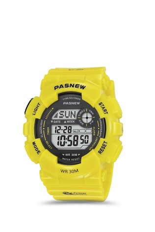 Teen's watch Pasnew Yellow PSE480-N4