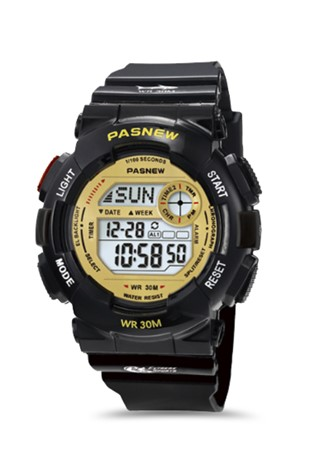 Teenager's watch Pasnew Black PSE-480GB
