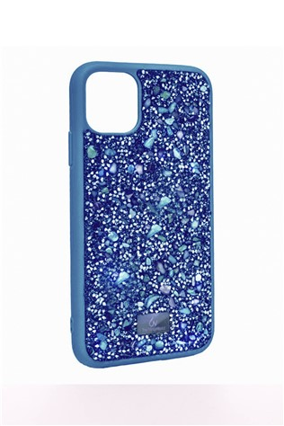 The Bling World iPhone 11 Blue-Multi 734329