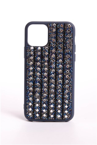 The Bling World iPhone 11 Pro Dark Blue 734336