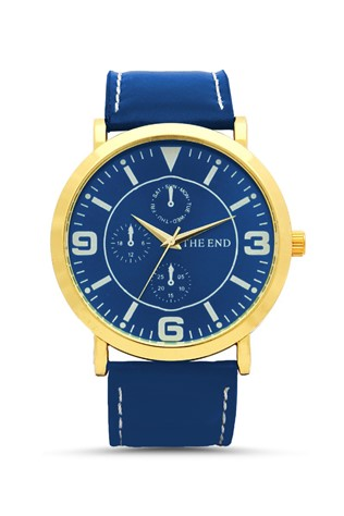 The End  Blue Unisex watch