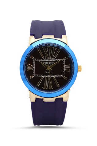 The End 212 Blue man's watch