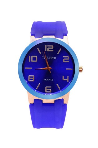 The End 213 modrýUnisex watch