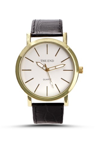 The End 219 Μαύρα man's watch