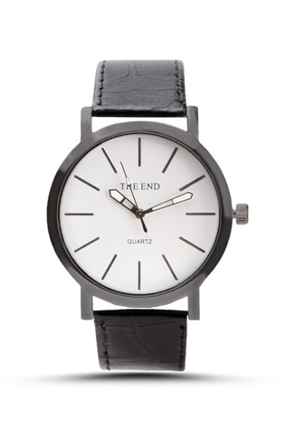 The End 228 Black Unisex watch