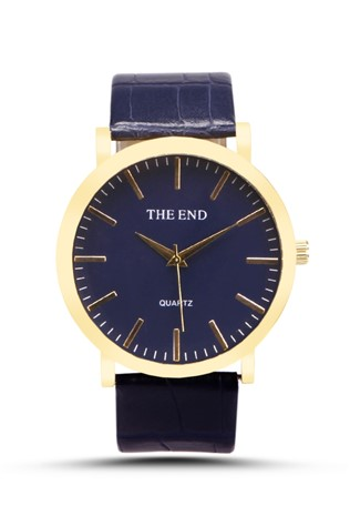 The End  4564 Dark blue watch