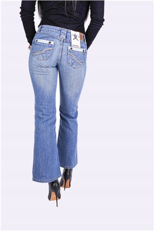 Tori Jade Fit 151 Medium Blue Wash J6152FT