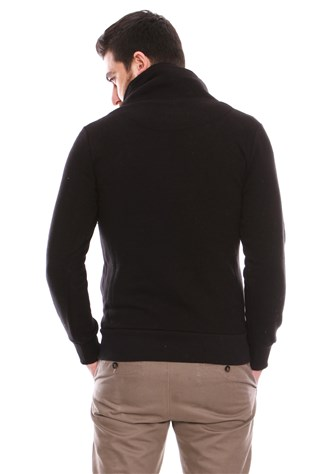 University Club U5039 Men's Black Sweatshirt