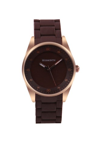 Vermonth Vr913-rbrw hnedá watch