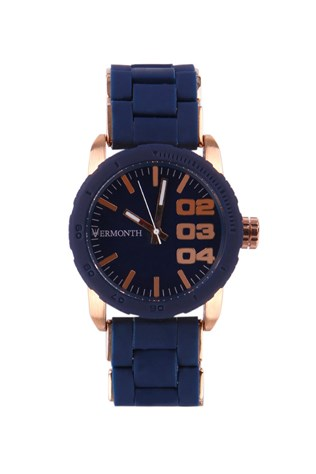 Vermonth Vr915-rbe Dark blue watch
