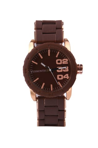 Vermonth Vr915-rbrw Brown watch