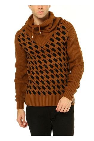 Vgl 3014 Men's Mustard Sweater