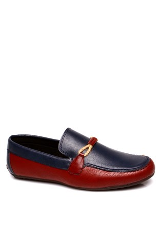 South Yacht Club 081 Bordeaux Dark Blue Men's Shoe