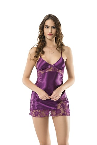 Women's erotic underwear 8001 Dark Purple