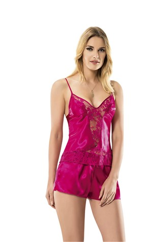 Women's underwear set 9036 Dark Pink