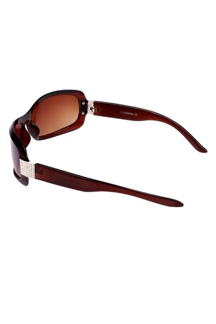 Y London Yl11-058-1 Brown sunglasses