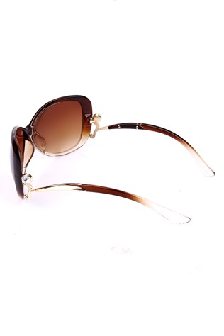 Y London  Yl11-067 Col1-a Brown sunglasses
