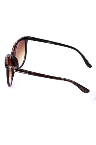 Y London  Yl11-068 Cat3 Col1-a Brown sunglasses
