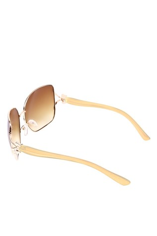 Y London YL11 003 Beige Sunglasses